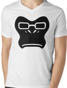Winston Black Mens V-Neck T-Shirt