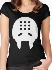 Zenyatta White Women's Fitted Scoop T-Shirt