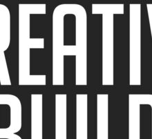 Creative Build - For the people (Circle) Sticker