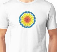 Chan Symbol Colour Flower Unisex T-Shirt