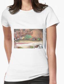 Smeagol Golum figure Womens Fitted T-Shirt