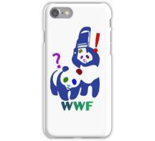 WWF multicolour iPhone Case/Skin
