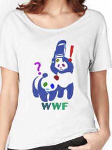 WWF multicolour Women's Relaxed Fit T-Shirt