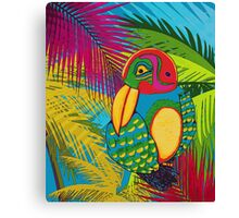 Tropical Bird Canvas Print