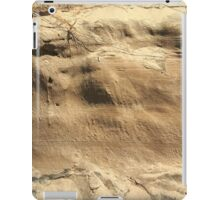 The Side of a Sand Dune iPad Case/Skin