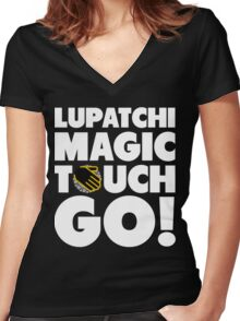 The Magic Touch Women's Fitted V-Neck T-Shirt