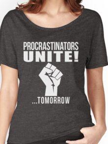 Procrastinators unite! Women's Relaxed Fit T-Shirt