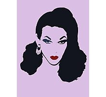 violet chachki head Photographic Print