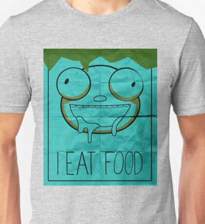 I EAT FOOD (Invader Zim) Unisex T-Shirt