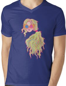 Psychedelic Luna Lovegood Mens V-Neck T-Shirt
