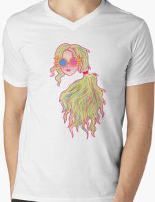 Psychedelic Luna Lovegood Mens V-Neck T-Shirt