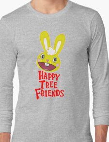 Juxtaposes Cute Forest Animals With Extreme Graphic Violence Long Sleeve T-Shirt