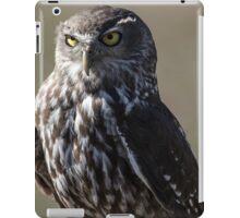 Barking owl iPad Case/Skin