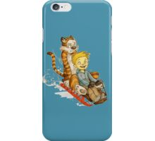 Calvin And Hobbes Speed iPhone Case/Skin