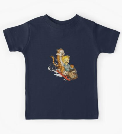 Calvin And Hobbes Speed Kids Tee