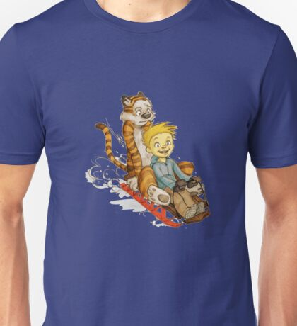 Calvin And Hobbes Speed Unisex T-Shirt