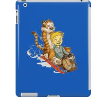 Calvin And Hobbes Speed iPad Case/Skin