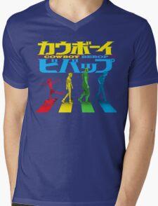 Kaubōi Bibappu ( カウボーイビバップ ) Mens V-Neck T-Shirt
