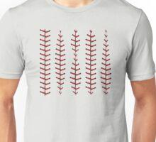 Baseball Lace Background Unisex T-Shirt