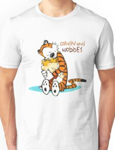 Calvin and hobbes Hugs Unisex T-Shirt