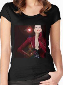 Shhow Grrl  Women's Fitted Scoop T-Shirt