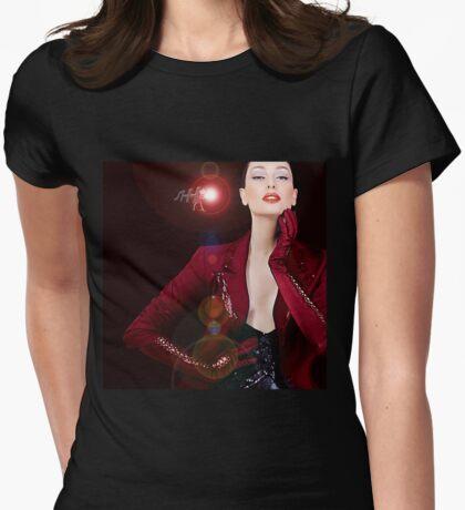 Shhow Grrl  Womens Fitted T-Shirt