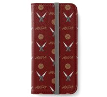 HEDA minimalist red iPhone Wallet/Case/Skin