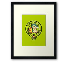 fire mouse trained Framed Print