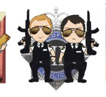 Cornetto Trilogy Sticker