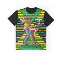 Jamaica Reggae Dance Hall Graphic T-Shirt