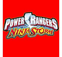 mighty mhorpin power rangers ninja storm Photographic Print