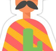 Mexican man  Sticker