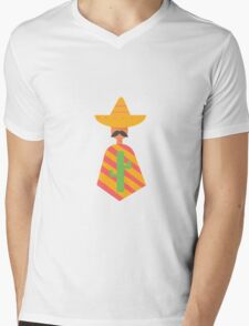 Mexican man  Mens V-Neck T-Shirt