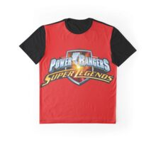 mighty mhorpin power rangers super legend Graphic T-Shirt