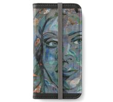 mirrored face iPhone Wallet/Case/Skin