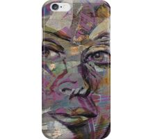 mirrored face iPhone Case/Skin
