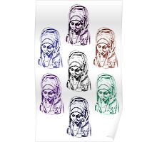 Our Lady of Sorrows Pattern Poster