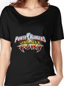 mighty mhorpin power rangers jungle fury Women's Relaxed Fit T-Shirt