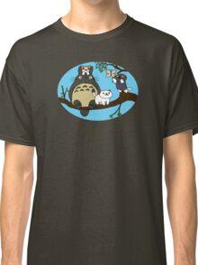 Totoro X Neko Atsume Classic T-Shirt