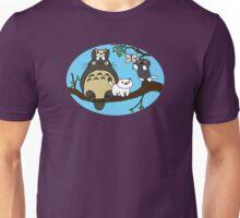 Totoro X Neko Atsume Unisex T-Shirt