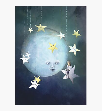 Hanging with the Stars Photographic Print