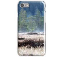 9.5.2016: Pine Trees at Spring Morning iPhone Case/Skin