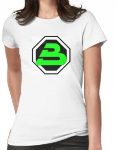 LEGO blacktron II logo Womens Fitted T-Shirt