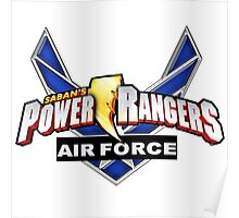mighty mhorpin power rangers air force Poster