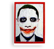 Joke O'bama Canvas Print