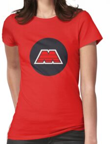 M-Tron Logo Womens Fitted T-Shirt