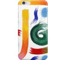 Abstract Pastel Doodles iPhone Case/Skin