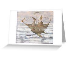 A Mystical Voyage Greeting Card