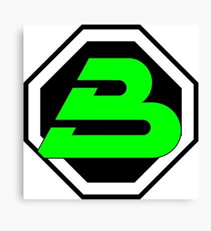 LEGO blacktron II logo Canvas Print