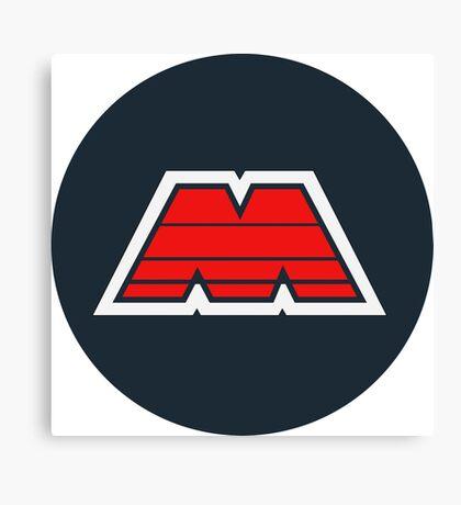 LEGO M-Tron Logo Canvas Print